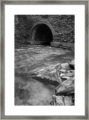 Cornish Mill Bridge Framed Print by Edward Fielding