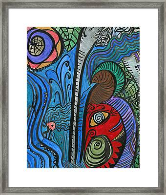 Water For Elephant Framed Print