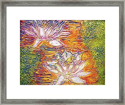 Framed Print featuring the painting Water For Fire by D Renee Wilson