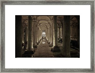 Water From The Ages Framed Print
