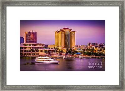 Water Front Tampa Framed Print by Marvin Spates