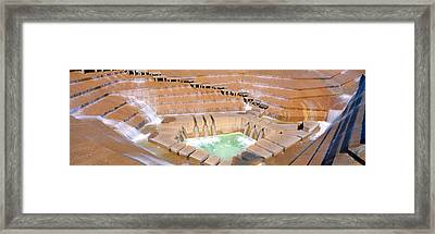 Water Garden Fountain, Fort Worth, Texas Framed Print by Panoramic Images