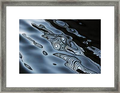 Framed Print featuring the photograph Water Ghost by Lorenzo Cassina