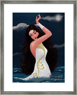 Water Goddess  Framed Print