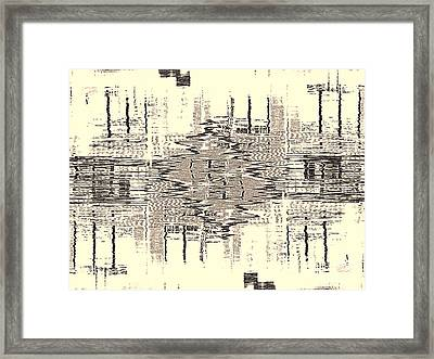Water  Graph Framed Print
