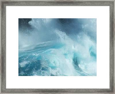 Water - Ile De La Reunion Framed Print