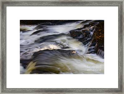 Water In Motion - 31 Framed Print by Paul W Faust -  Impressions of Light
