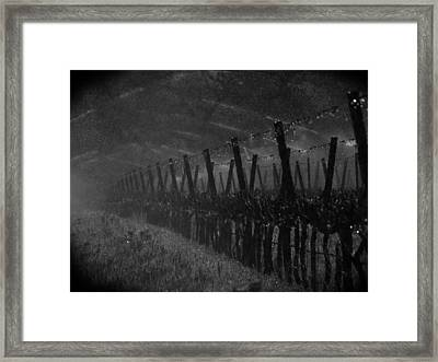Water Into Wine Framed Print by Bill Gallagher