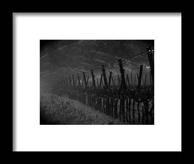 Napa Valley And Vineyards Framed Prints