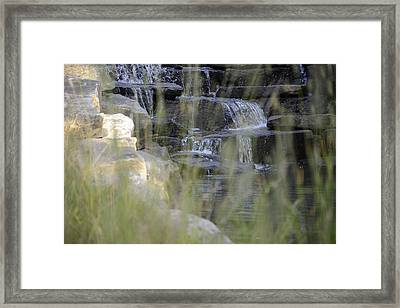 Water Is Life 1 Framed Print