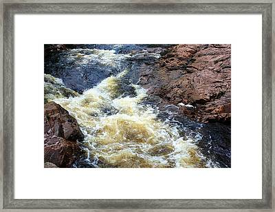 Water Framed Print by Jason Lees