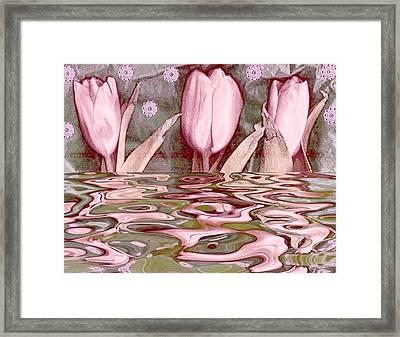 Water Landscape 2 Framed Print
