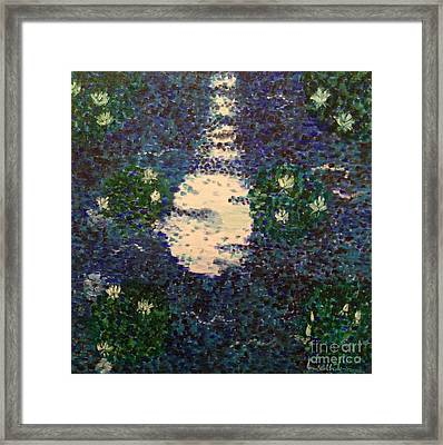 Water Lily 2 Framed Print by Brindha Naveen