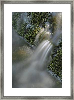 Water Movement 12 Framed Print by Stephen  Vecchiotti