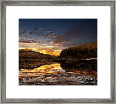 Water Framed Print by Nigel Hatton