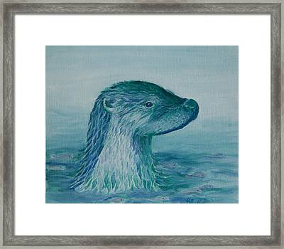 Prince Of The Water Framed Print