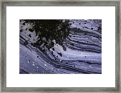 Water Patterns 1 Framed Print