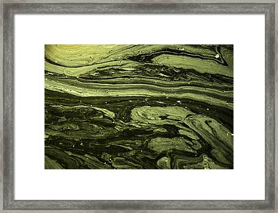 Water Patterns 2 Framed Print