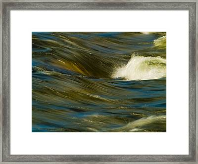 Water Play Framed Print by Bill Gallagher