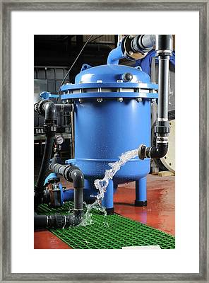 Water Purification System Framed Print by Photostock-israel