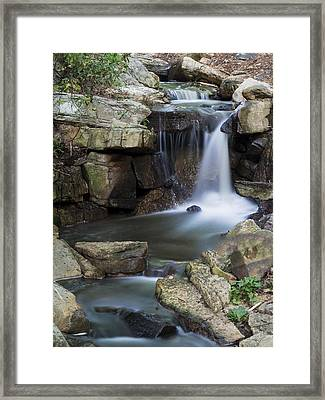 Water Rays Framed Print