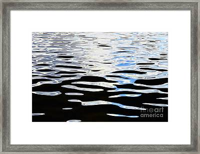 Water Reflections 1 Framed Print by Allen Beatty
