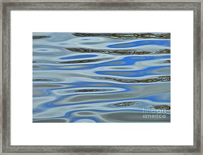 Water Reflections 2 Framed Print by Allen Beatty