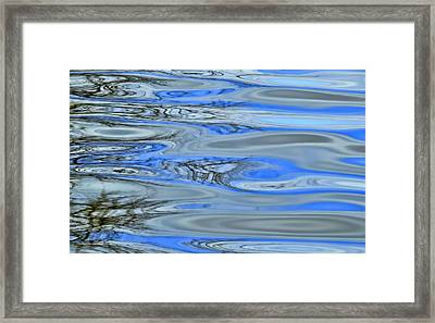 Water Reflections 3 Framed Print by Allen Beatty