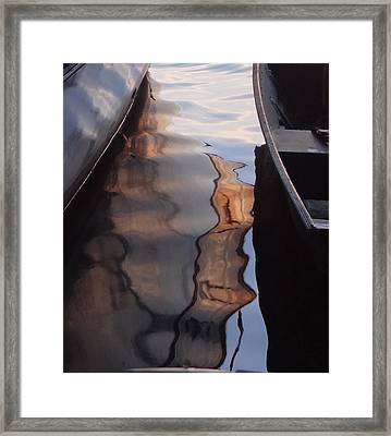 Water Reflections Abstract Framed Print