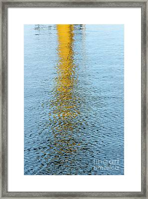 Water Reflections Framed Print by Kelly Morvant