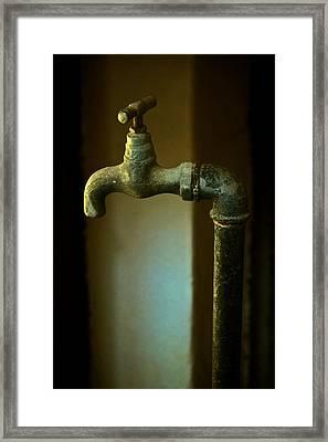 Water Sculpture Framed Print by Odd Jeppesen