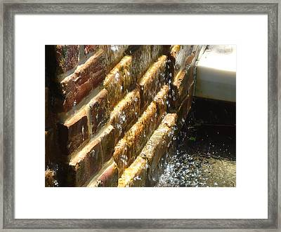Water Sounds Framed Print by Katie Spicuzza