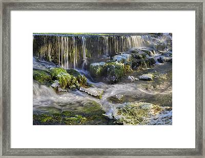 Water States Framed Print by Patrick Jacquet