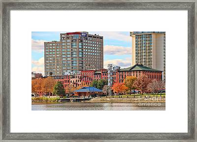 Water Street Downtown Toledo 5226 Framed Print by Jack Schultz