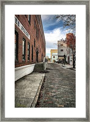Water Street Framed Print