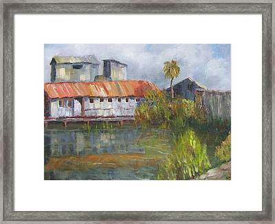 Water Street Seafood Framed Print