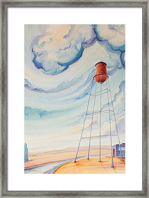 Water Tank I Framed Print