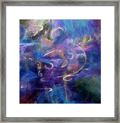 Water Framed Print by Tolere