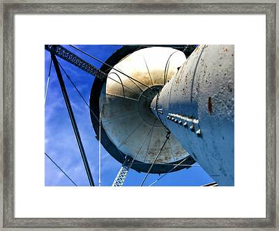 Water Tower 03 Framed Print by Thomas Woolworth
