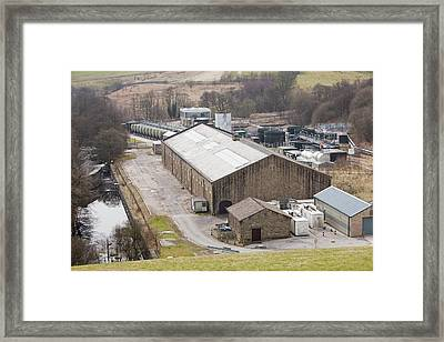 Water Treatment Plant Framed Print
