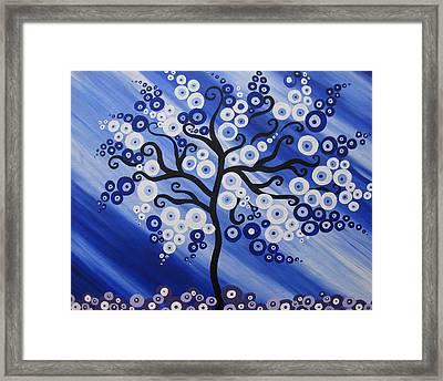 Water Tree Framed Print