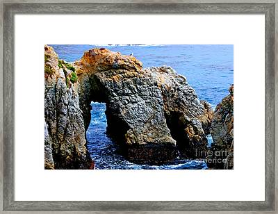 Water Tunnel Framed Print