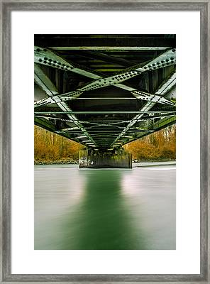 Water Under The Bridge 2 Framed Print