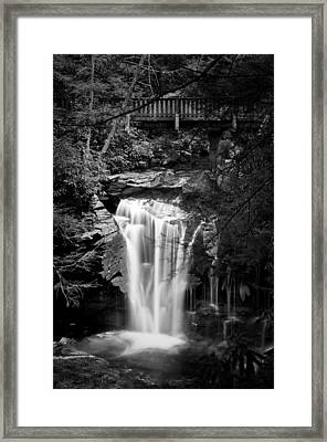 Framed Print featuring the photograph Water Under The Bridge by Tyson and Kathy Smith