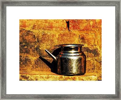 Water Vessel Framed Print by Prakash Ghai