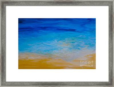 Water Vision Framed Print