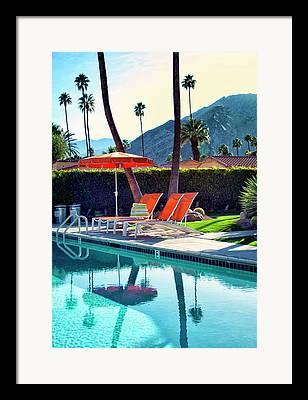 Cabana Framed Prints