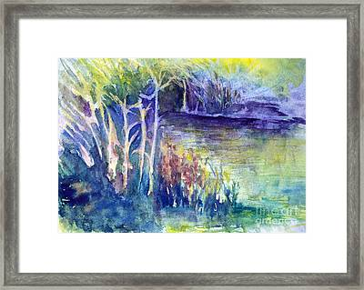 Water Way Framed Print
