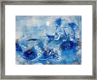 Water Wizard Framed Print by Valerie Lynch