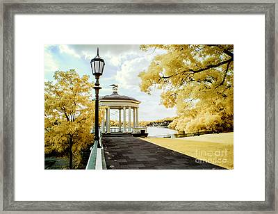 Water Works And Boathouse Row Framed Print